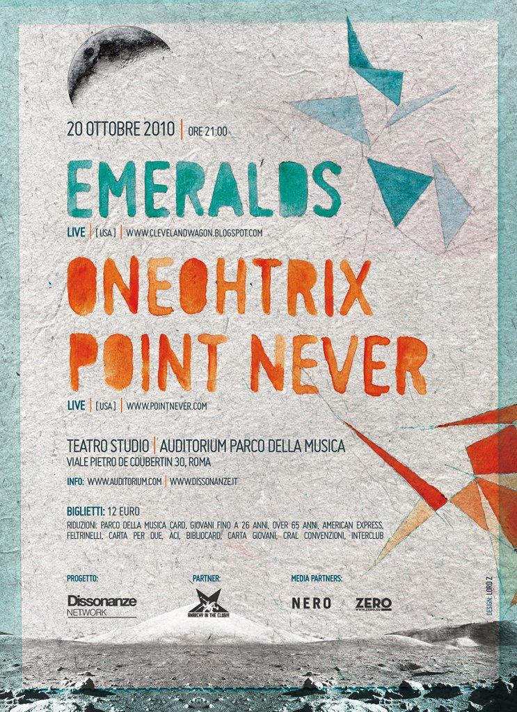 Oneohtrix Point Never + Emeralds – Auditorium Parco della